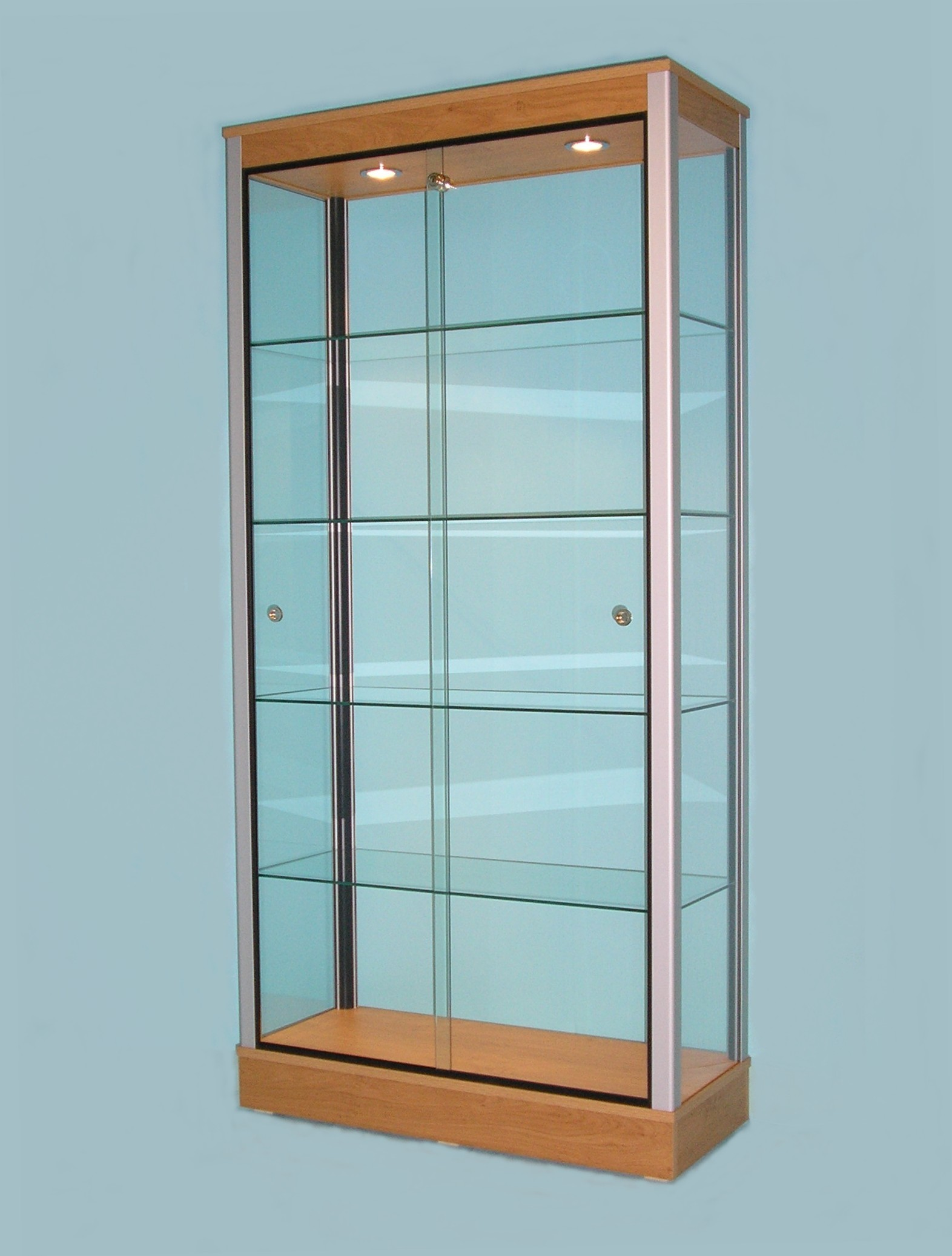 ikea detolf glass cabinet review