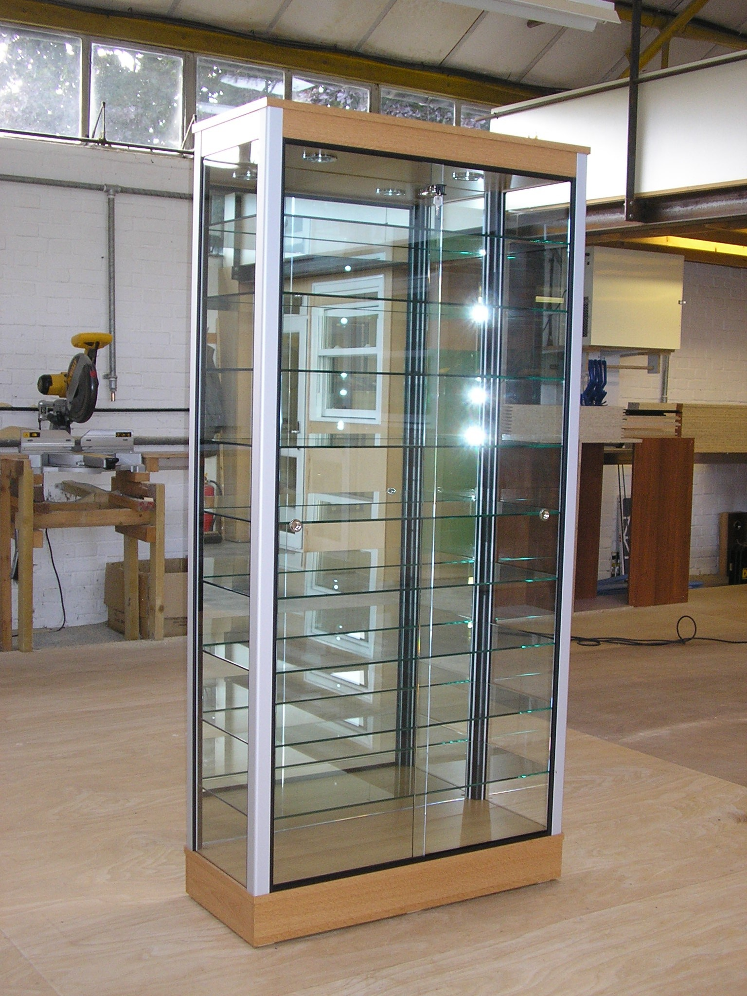 Designex Cabinets, Glass Display Cabinets