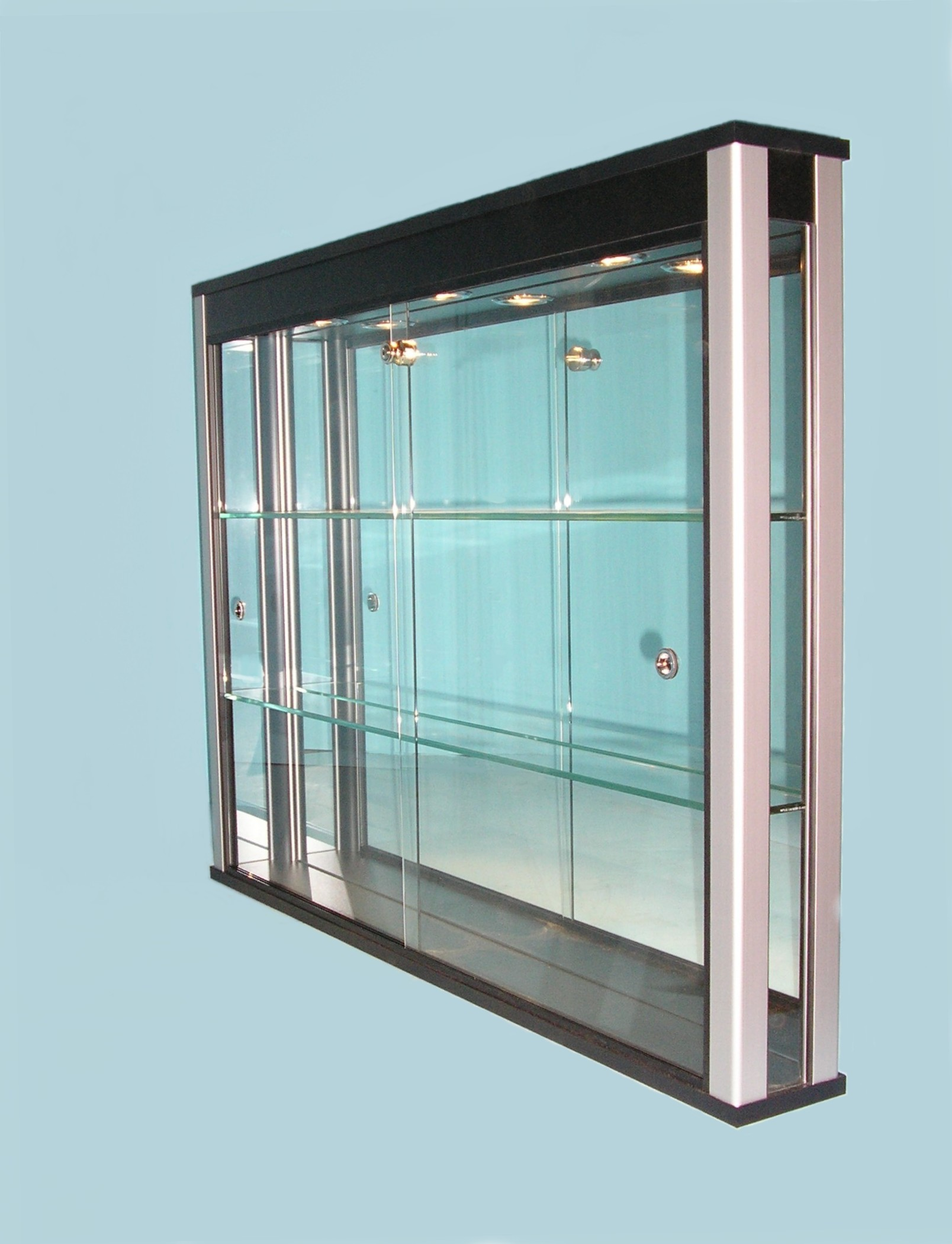 All Glass Display Case