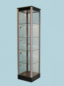 Glass Display Cabinets for Offices · Designex Cabinets