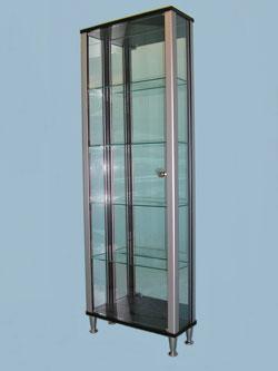 Ultra Slim Glass Display Cabinets · Designex Cabinets