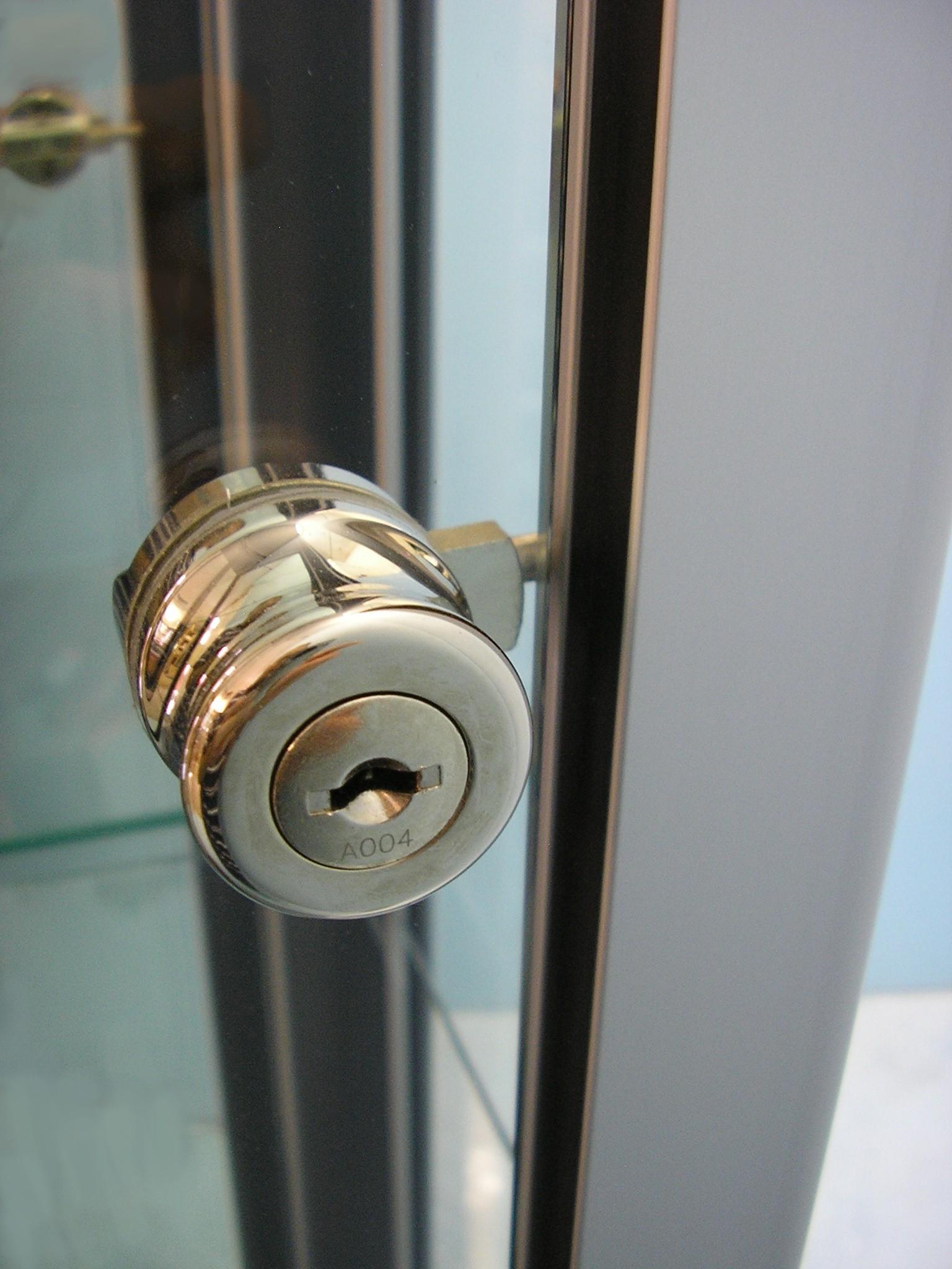 Designex Cabinets pin lock