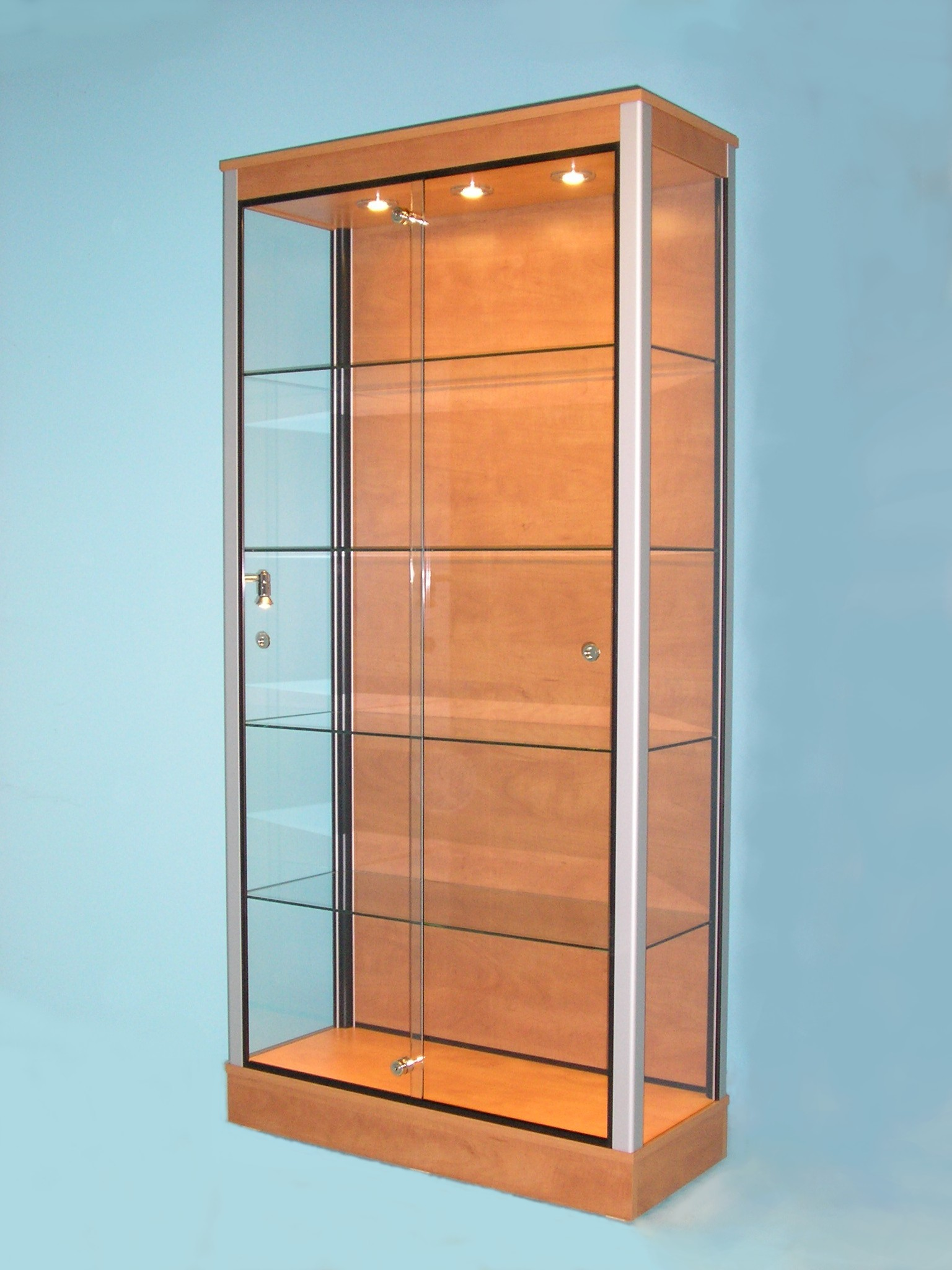 GLASS DISPLAY CABINETS, D10 Large Retail Cabinet